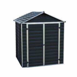 Skylight Storage Sheds 6x5 Midnight Grey